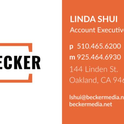 Becker Media Business Cards