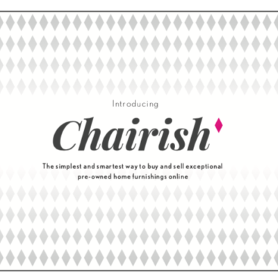 Chairish Member Cards - Front